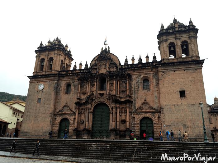 Impresionante catedral de Cuzco