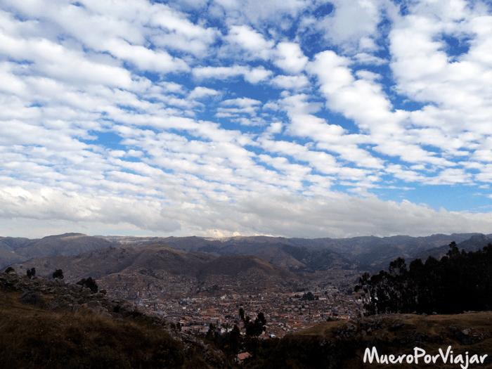 Vistas de la ciudad de Cuzco desde Kenko