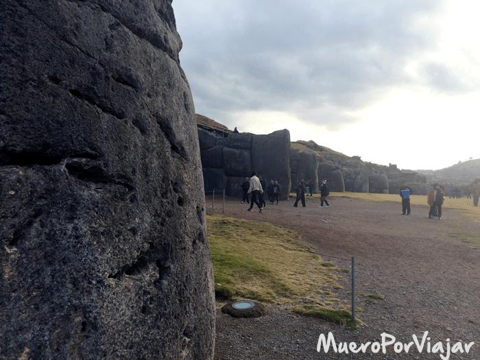 La Fortaleza de Sacsayhuaman tiene unos monumentos de piedra muy impresionantes