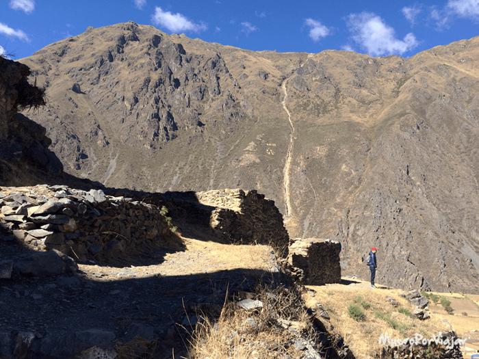 #ElCamaraResignado en la Montaña de Ollantaytambo