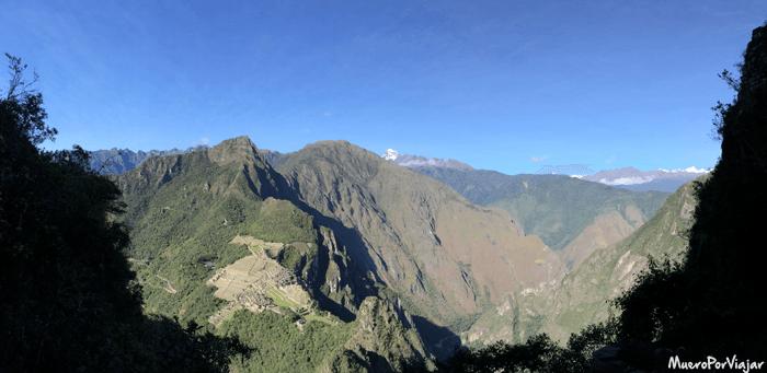 Las vistas panorámicas desde el Waynapicchu son muy bonitas