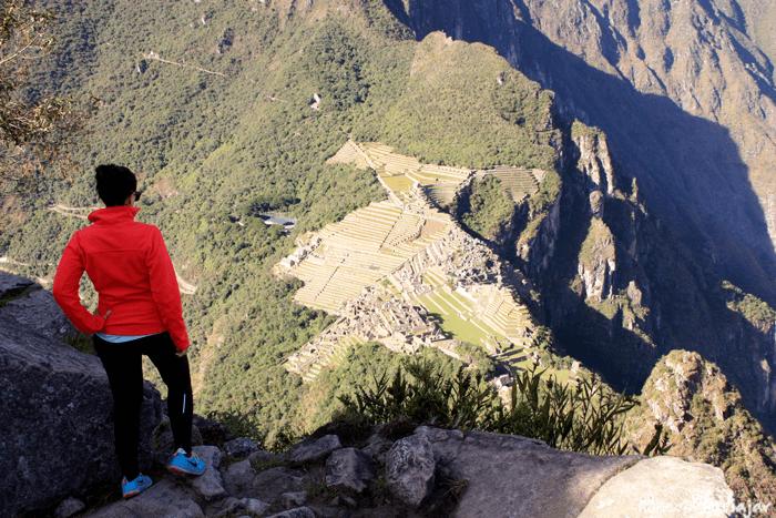 Las vistas del Machu Picchu desde la cima del Waynapicchu son espectaculares