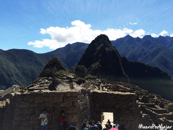 Puerta principal de entrada al Machu Picchu