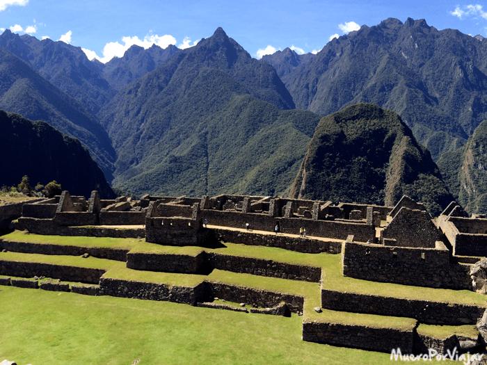 Aquí es donde se situaban las viviendas de la gente de la élite del Machu Picchu