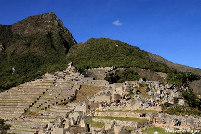 Vista del complejo del Machu Picchu