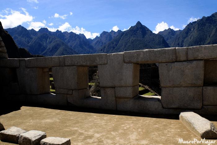 Templo de las tres ventanas en el Machu Picchu