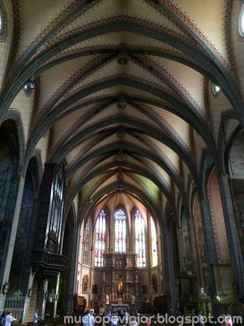 Interior de la Catedral de Saint Jean en Perprignan