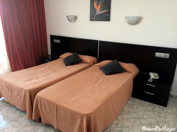 Habitación del hotel Fergus Paraiso Beach en Ibiza