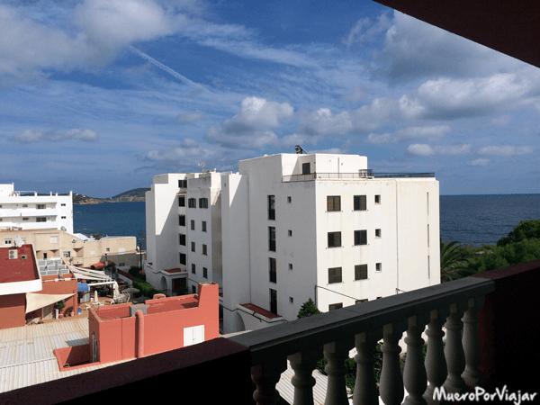 Vistas desde el hotel Fergus de Ibiza