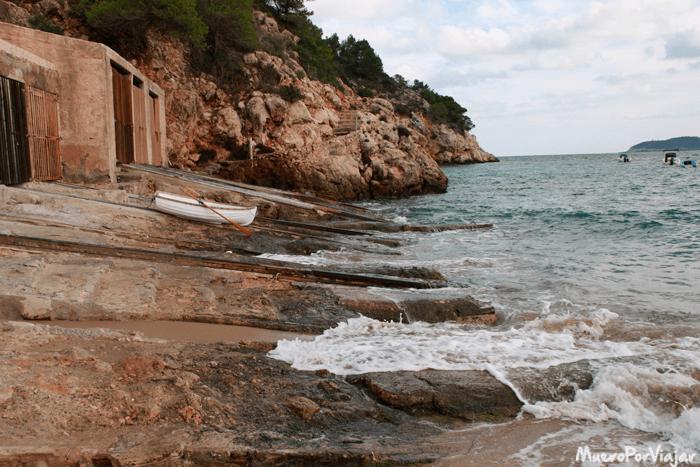 Las playas de Ibiza son un paraíso, en esta temporada muy relajadas
