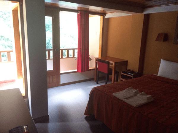 Habitación muy amplia en el Hotel Presidente de Machu Picchu