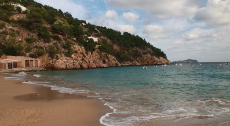 Magnífica playa de Ibiza