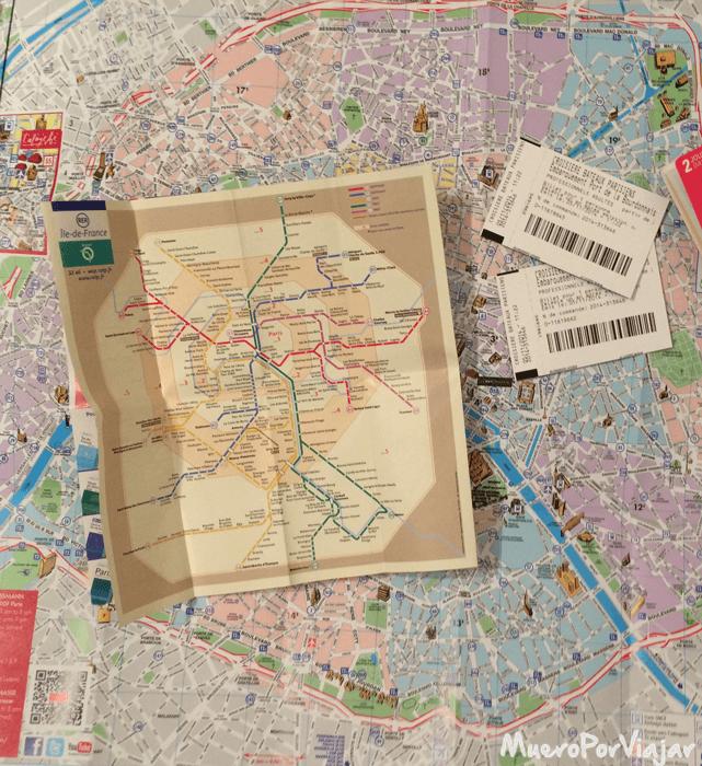 Mapas de París y del transporte público, tus mejores aliados en los viajes por ciudad