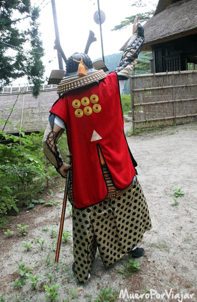 Y también como un Samurai!