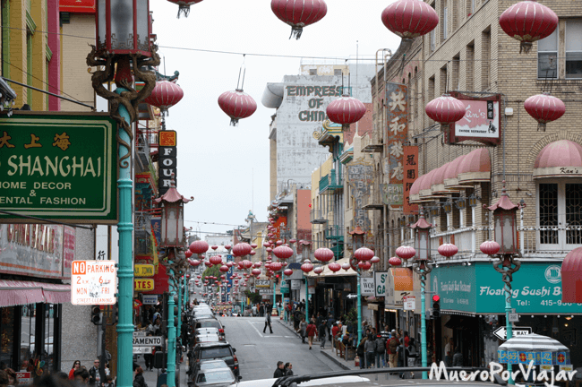 Barrio de Chinatown de San Francisco