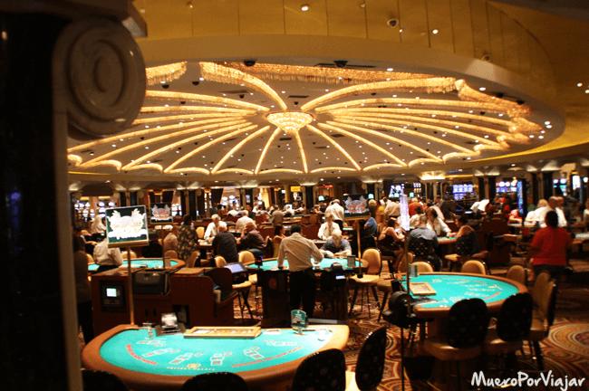 Los casinos de Las Vegas están diseñados para que no se tenga percepción del tiempo