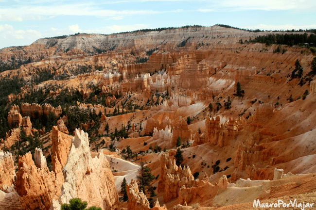 Panoramica del Bryce Canyon