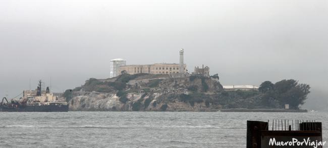 La prisión de Alcatraz o La Roca, San Francisco