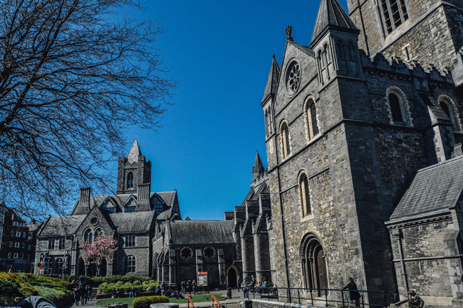 La Christ Church Cathedral en Dublin