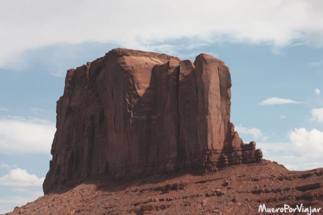 La Elephant Butte (la colina del elefante) es una de las estructuras más visitadas