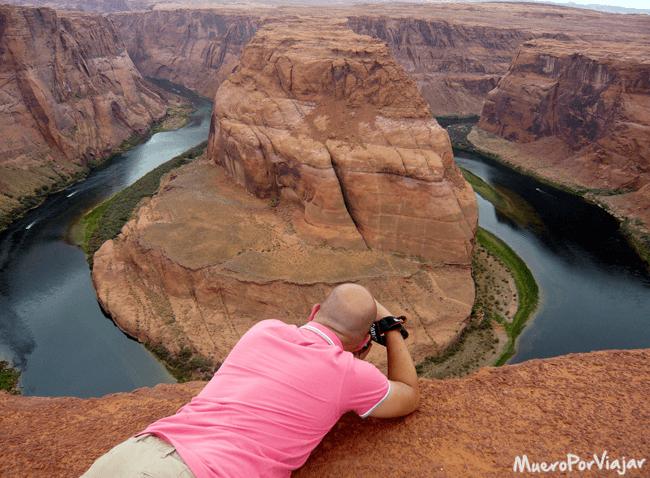 #ElCamaraResignado quedó maravillado con las vistas y la experiencia de la visita al El Horse Shoe Bend