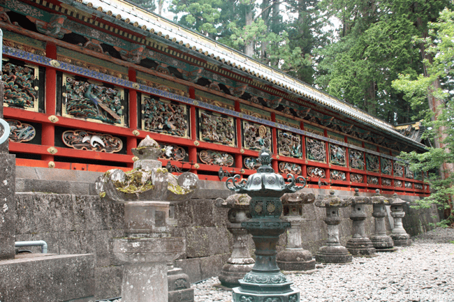 Murales del Santuario Toshogu