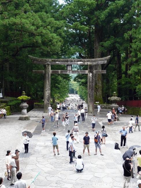 El Tori a la entrada del Santuario Toshogu