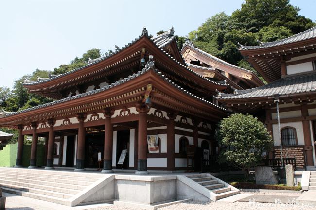 Precioso y tranquilo Templo budista Hase Dera
