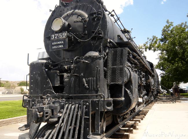La locomotora Santa Fe es un icono en todo el país.