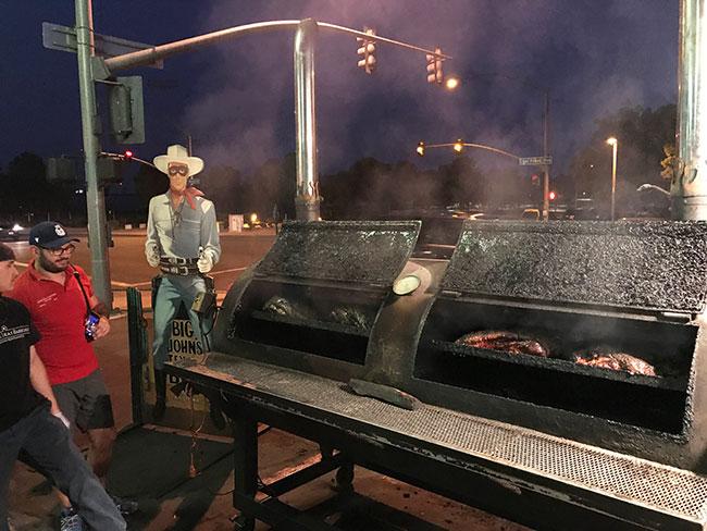 John's Texas BBQ en Page