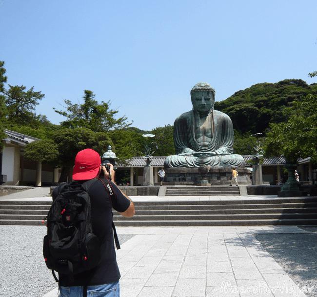 Impresionante imagen del Buda Daibutsu