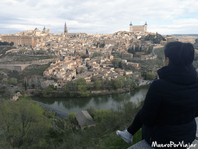 La ciudad de Toledo, antigua capital de España