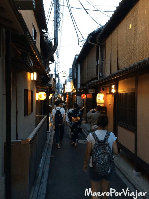 Calle Pontocho, Kioto