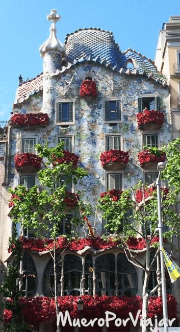 La Casa Batlló es uno de los referentes de Barcelona a nivel Mundial