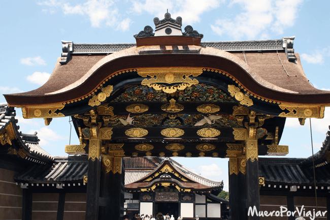 Castillo Nijo, Kioto (Japón)