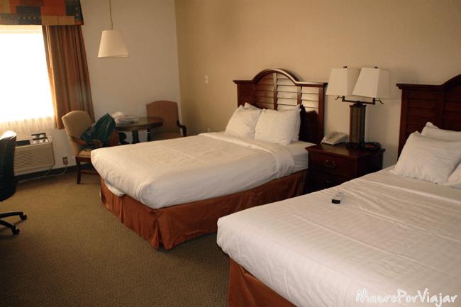 Nuestra habitación en el Best Western Ruby's Inn