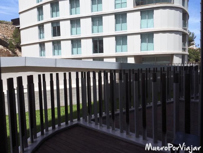 Nuestro balcón en el hotel Agora Spa & Resort, Peñíscola (Castellón)