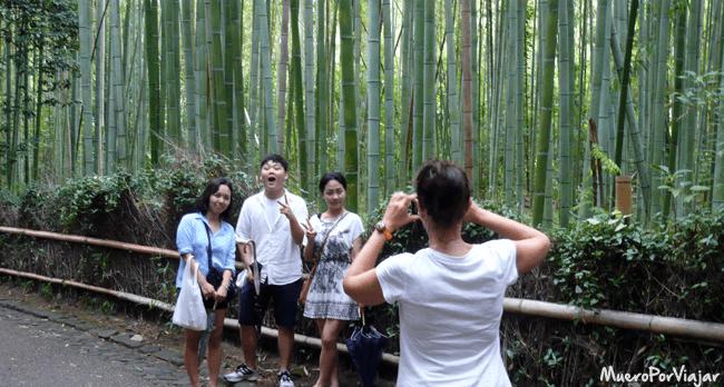 Bosque de Bambú, Kioto (Japón)