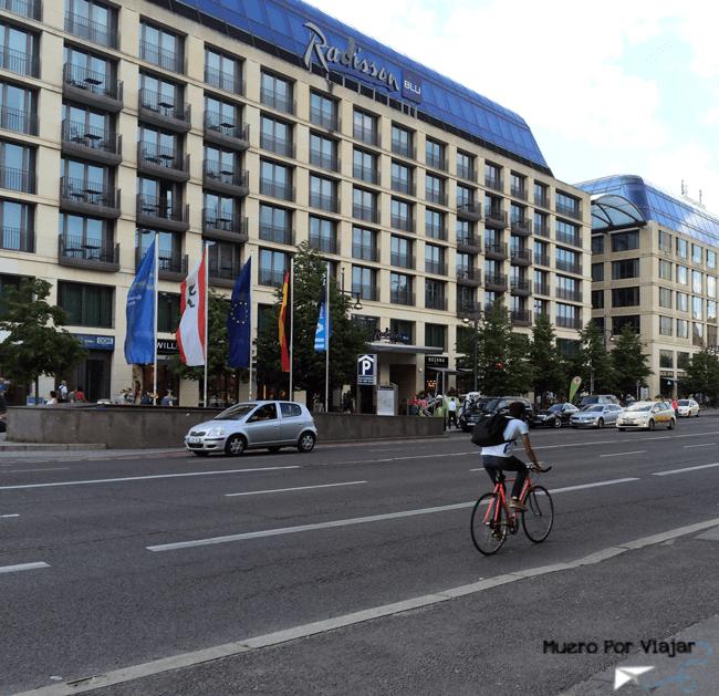 Bicicleta en Berlín (Alemania)