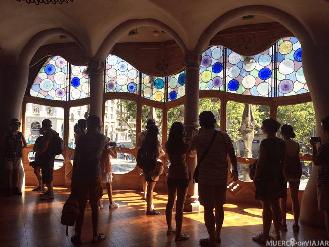 Interior de la Casa Batlló (Barcelona)