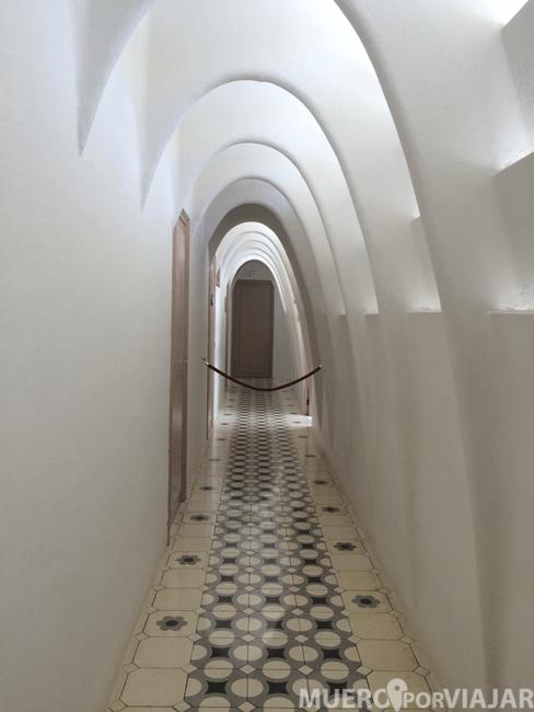 Desván de la Casa Batlló (Barcelona)