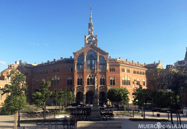 Hospital Sant Pau en Barcelona