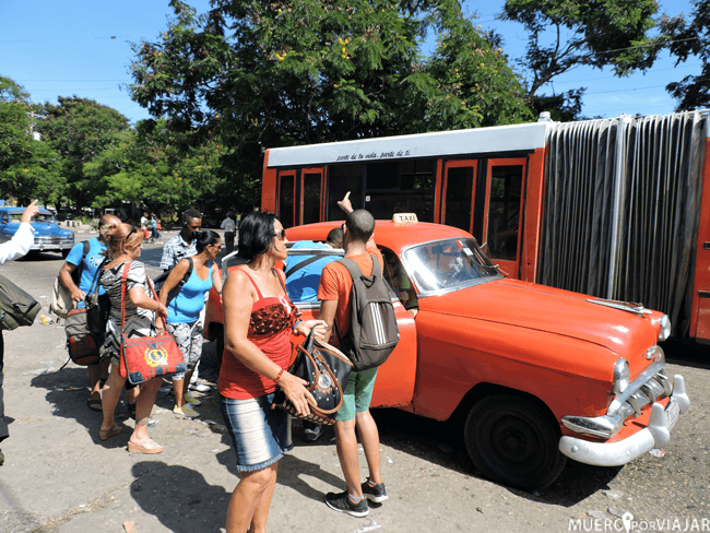 Colectivo en La Habana