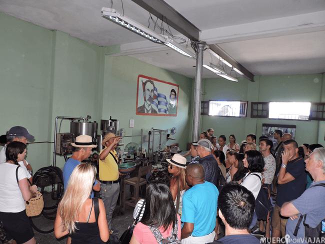 Fabrica de ron en Pinar del Rio (Cuba)