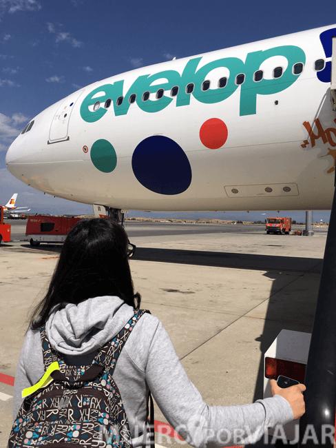 Subiendo a nuestro avión