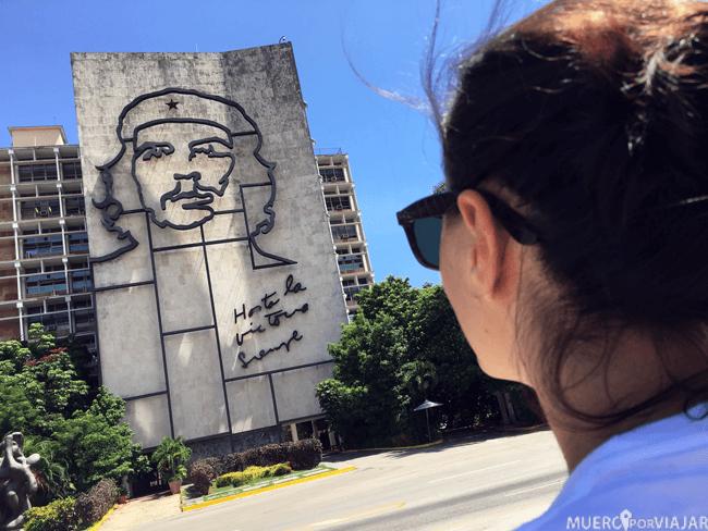 La Plaza de la Revolución en La Habana (Cuba)