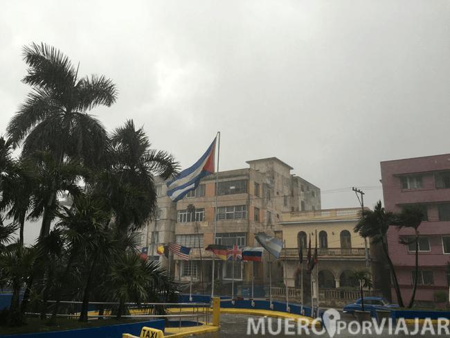Llovió de manera torrencial todas las tardes que estuvimos en La Habana