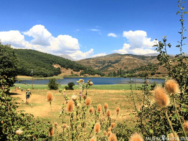 Día magnifico en nuestra visita al Estany de Moncortès