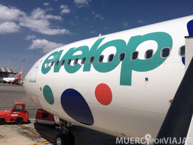 Nuestro avión de evelop!