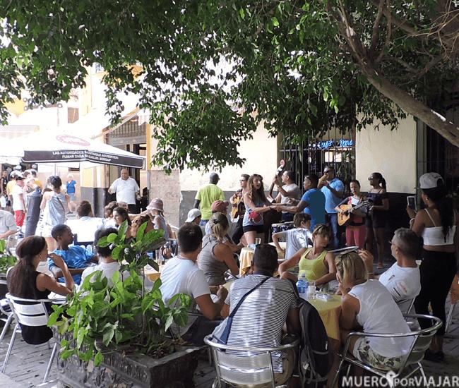 Música en directo en La Habana